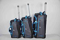Набор дорожных сумок на колесах для путешествия, фото 1