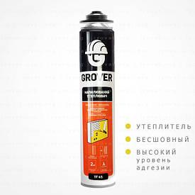 Утеплитель в баллоне  Grover TF45 полиуретановый 850мл (Польша)