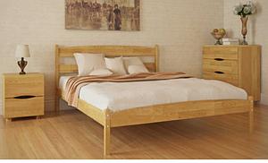 Кровать из массива бука - Ликерия, без изножья