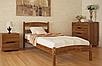 Кровать из массива бука - Ликерия, без изножья, фото 4