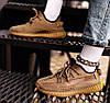 """Женские кроссовки adidas Yeezy Boost 350 V2 """"Earth"""" (Адидас Изи Буст 350) бежевые, фото 5"""