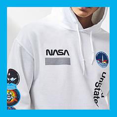 Худи и толстовки NASA