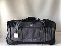 Дорожная сумка текстильная на колесах 7км