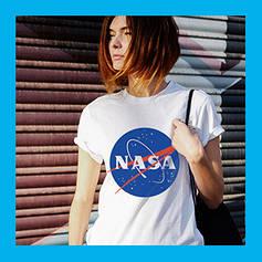 Футболки NASA