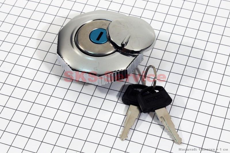 Крышка бака круглая (с ключом)