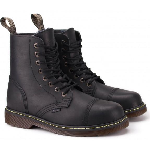 Мужские ботинки берцы 113/114/AL/KEN/124-BLK. Оригинал