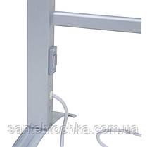 Электрический полотенцесушитель Q-tap Arvin 32706 SIL, фото 2