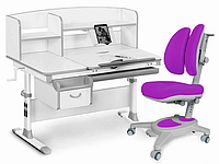 Комплект Evo-kids Evo-50 G Grey (арт. Evo-50 G + кресло Y-115 KS)