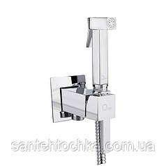 Набор для гигиенического душа Q-tap Inspai-Varius V00440201 CRM скрытого монтажа