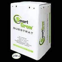 Торфяной Субстрат (грунт) Smart Grow 250л, фракция 0-5