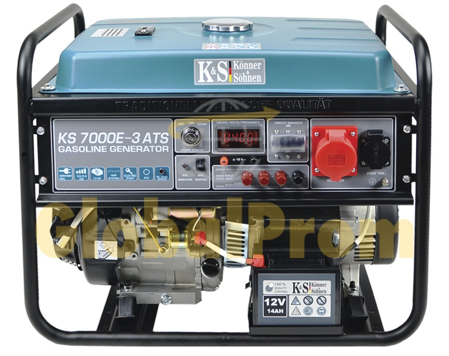 Бензиновый генератор Könner & Söhnen KS 7000E ATS-3