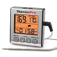 Термометр для мяса ThermoPro TP-16S (-10°C ... 300°C) с таймером, магнитом и подсветкой, фото 1