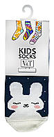 Носки для малышей Kids Socks V&T classic ШДКг 108-024-0407 Зайчонок р.10-12 Темно-лиловый