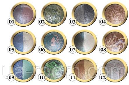 Тени для век запеченные Bourjois eyeshadow rich terracota texture, фото 2