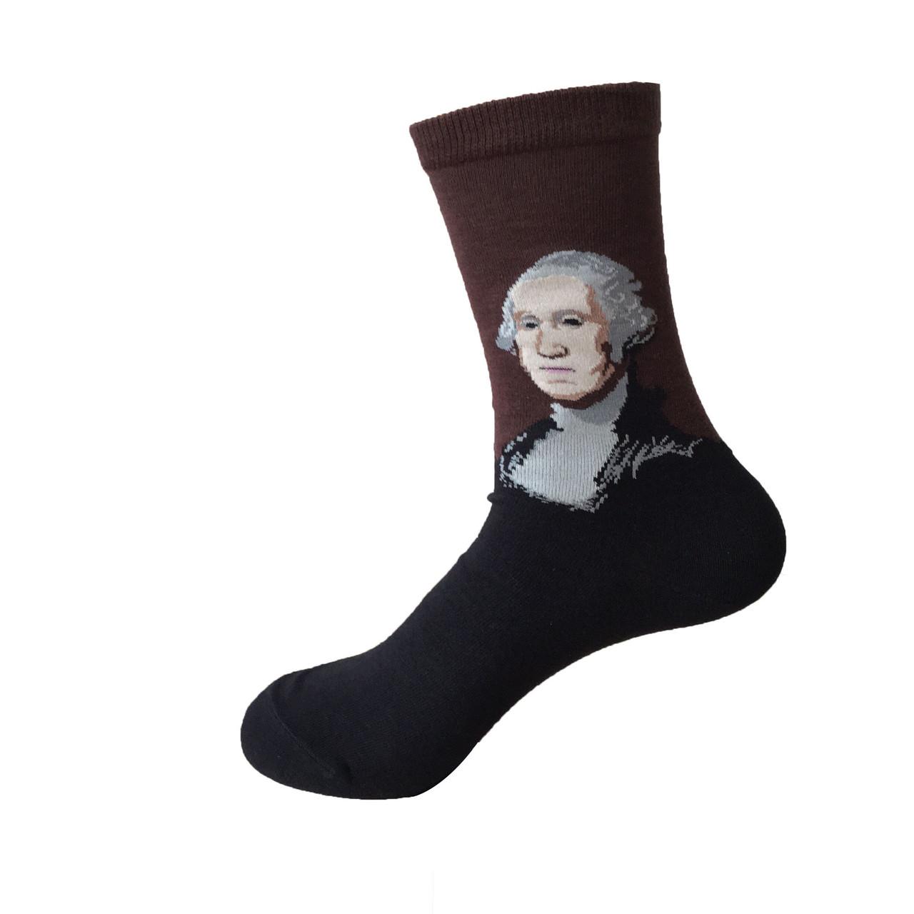 Носки Картины - высокие - Джордж Вашингтон (Гилберт Стюарт)