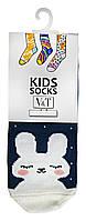 Носки для малышей Kids Socks V&T classic ШДКг 108-024-0407 Зайчонок р.8-10 Темно-лиловый