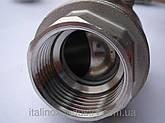 Нержавеющий кран AISI 304 (08Х18Н10)  2- корп. M/M DN 32, фото 2