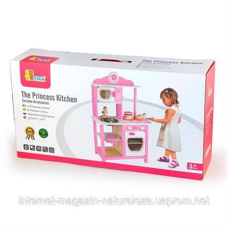 Детская деревянная кухня Viga Toys Кухня принцессы