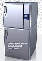 Лабораторний паровий стерилізатор на 84 л. вертикальний (ASL80В базова версія)