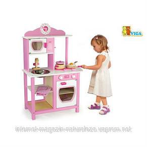 Детская деревянная кухня Viga Toys Кухня принцессы, фото 3