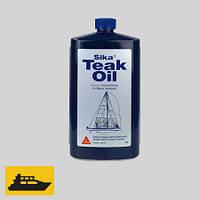 Система по уходу за тиковой палубой Sika Teak Oil, 0,5 л