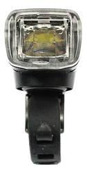 Фара HJ-047B (SA-16) 350 lumen, Li-ion 1200mAh, датчик освітлення, дзвінок, зарядка від USB