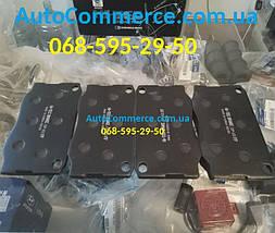 Колодки гальмівні передні дискові Hyundai HD65/72/78 Хюндай hd (581015HA30), фото 3