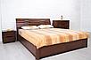 Деревянная, двухспальная кровать Мария на подъемной раме., фото 3