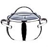Набор посуды Maestro MR-3501-6L, 6 предметов, нержавеющая сталь | кастрюли с крышками Маэстро, фото 4