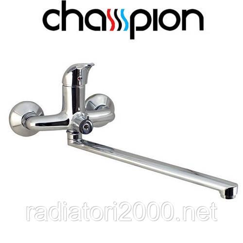 Смеситель для ванны длинный нос CHAMPION PREMIERE EURO (CHR-006)