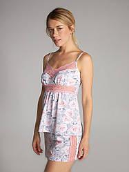 Пижама женская LNP 324/001 ELLEN в розочки