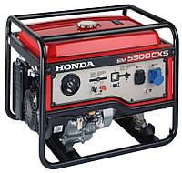 Генераторы и электростанции Honda EP 5500 электрогенератор для дома стройки склада Хонда 5500 Элекстростартер