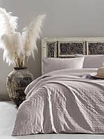 Комплект постельного белья 200x220 LIMASSO PRISTINE VOGUE SATIN светло-розовый