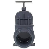 Задвижка для труб ПВХ VDL, 160 мм