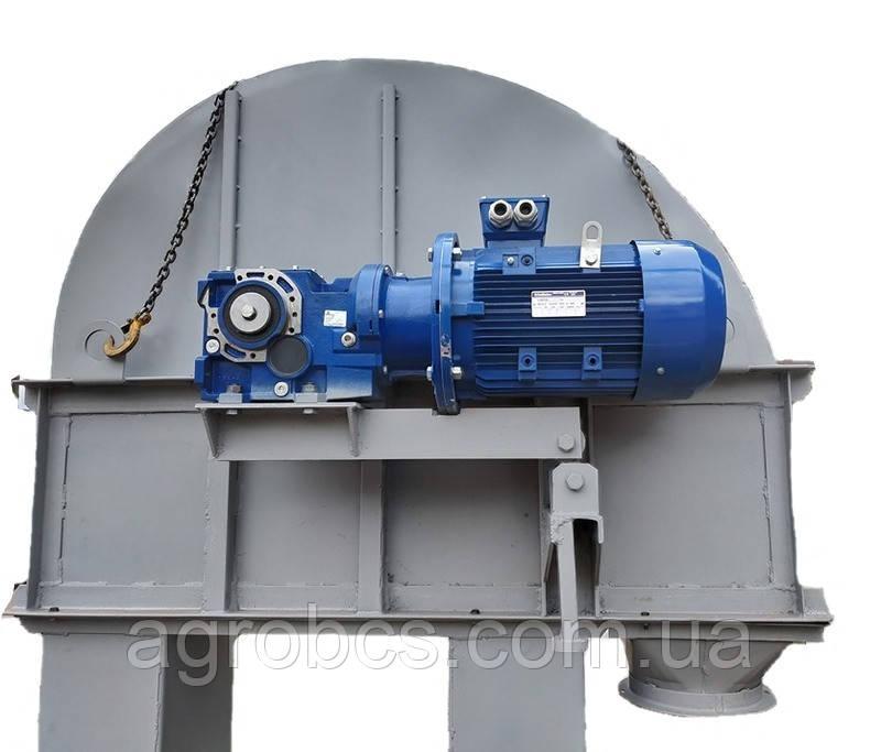 Нория ленточная Н 25 цепной транспортер 175 тонн в час