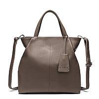 Модная женская сумка. Сумка женская стильная. Сумочка женская (серая)