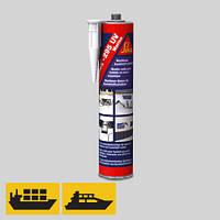 Клей для приклейки пластиковых стекол в морском применении Sikaflex-295 UV, 300 мл.