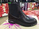 Стильные женские кожаные ботинки на байке, фото 6