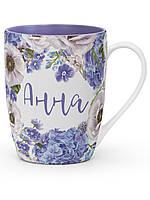 """Кружка """"FLORA"""" с именем """"Анна"""", фото 1"""