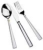 Столовый набор Maestro MR-1517G (24 предмета) | набор столовых приборов Маэстро | ложки и вилки Маестро, фото 5