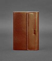 Блокнот кожаный, софт-бук светло-коричневый Krast (ручная работа), фото 1