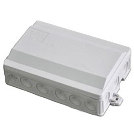 Коробка распределительная IP54 90x135x40 SEZ 6410-30 (накладная, защелки, 12 отв.)