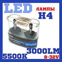 Лампы светодиодные Baxster SX H4 5500K, фото 1