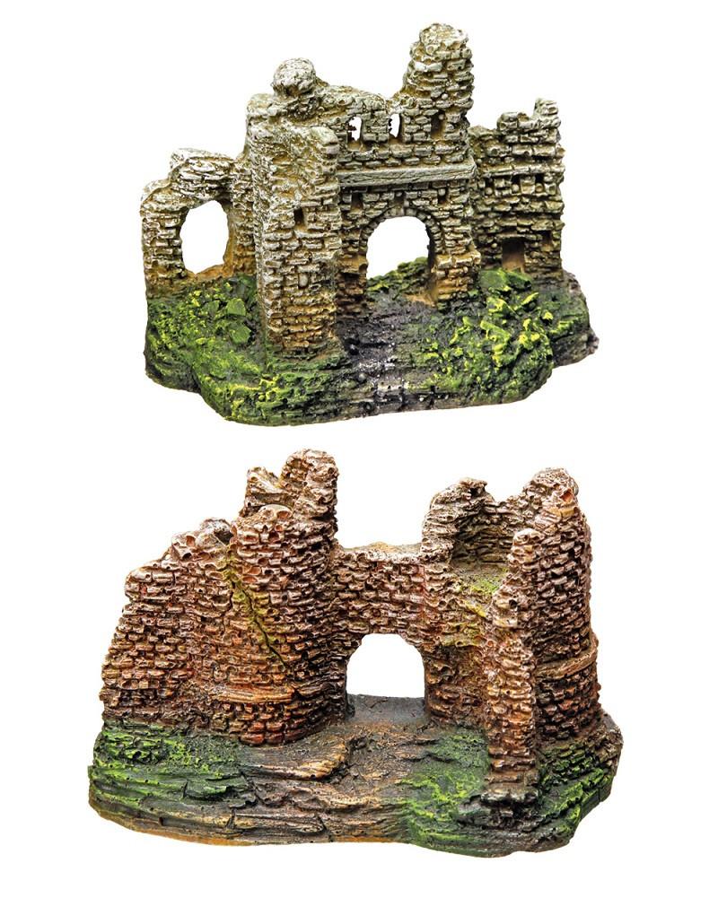 Декорация для аквариума руины 8-10 см в ассортименте