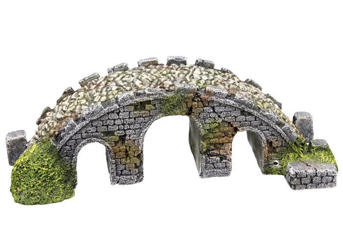 Декорация для аквариума мост 21*8*6,5 см