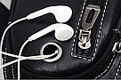 Сумка-рюкзак на одно плечо кобура слинг Jeep 1941 Черная / J1941 black ViPvse, фото 3