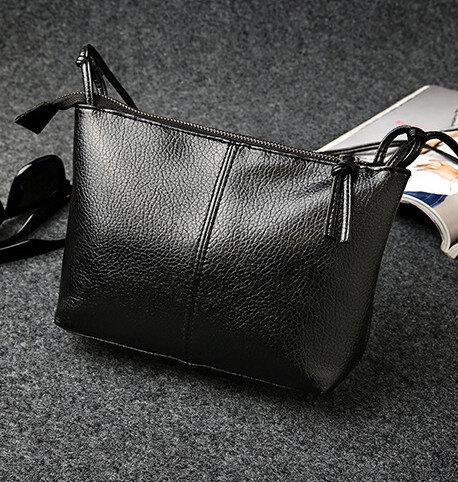 Маленькая сумочка на длинном ремешке, черная маленькая сумка, мини сумка через плечо женская, СС-6774-10