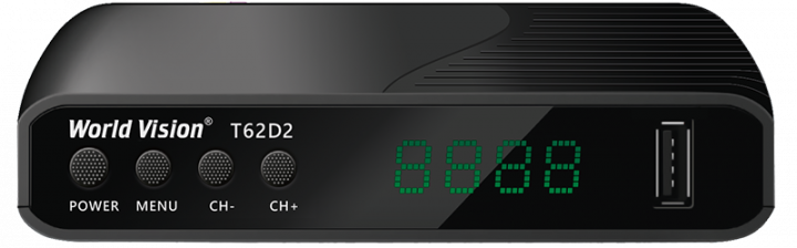 Т2 IPTV приставка World Vision T62D2