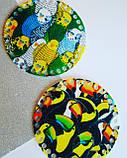 Денце з акрилу з малюнком для сумочки або кошики, діаметр 15см, фото 2