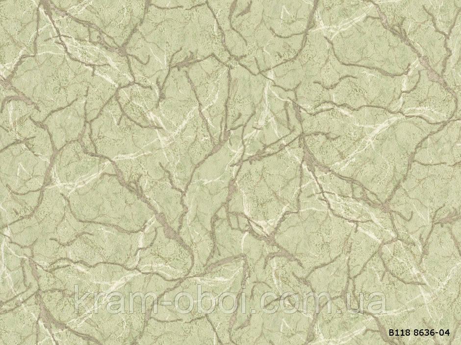Обои Славянские Обои КФТБ виниловые горячего тиснения шелкография 10м*1,06 9В118 Джакарта 2 8636-04